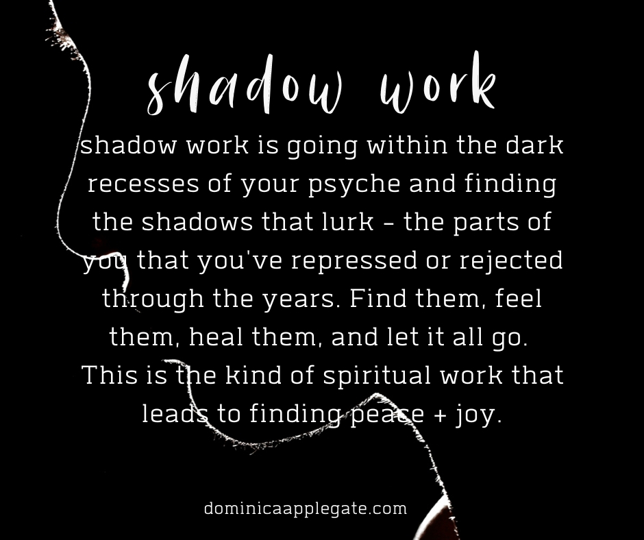 shadow work jung