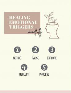 healing emotional triggers